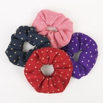 ShowQuest Lurex Spot Scrunchie