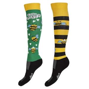 Elico Riding Socks - Bee Happy