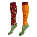 Elico Riding Socks - Carrot