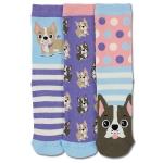 Childrens 3 Odd Socks - Woof