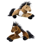 Soft Horse Toys (pack of 2)