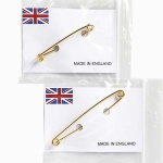 Elico Gold Plated Stock Pins - Plain