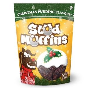 Stud Muffins:Christmas Pudding