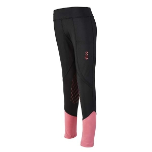 Elico Charlie Riding Tights Black/Pink