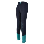 Elico Charlie Riding Tights Navy/Teal