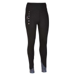 Elico Madison Riding Tights Black/Purple/Pink