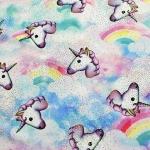 Pastel Unicorn Lycra Cover   (+ Pom-Pom)