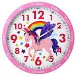 Ravel Unicorn Wall Clock