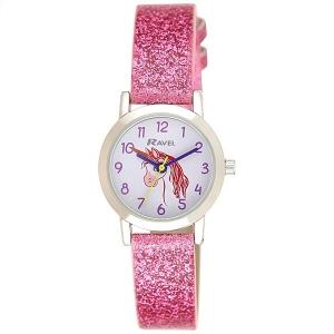 Girl's Sparkle Glitter Watch - Unicorn