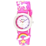 Ravel Childrens Watch - Unicorn     PINK