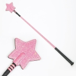 Sparkly Riding Whip with Star Keeper